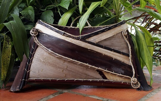 Palm part purse beautiful crafted by RubyKim on Jazzys Riverhouse
